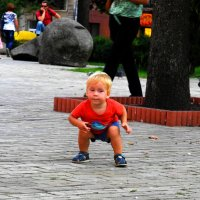 Сейчас как прыгну! :: Стас