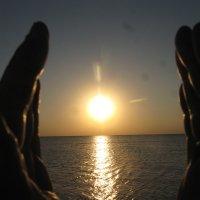 Благость рассвета на море... :: Алекс Аро Аро