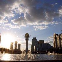 Красивая  Астана :: Ефим Журбин