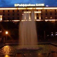 Фонтан напротив банка в Санкт- Петербурге. :: Светлана Калмыкова