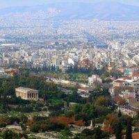 Вид на Афины  с Акрополя. :: Оля Богданович