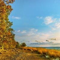 Осень на заливе :: Виталий