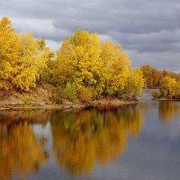 Осень пришла на Енисей :: Екатерина Торганская