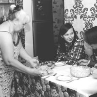 У бабушки.... :: Галина Данильчева