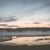 Туманное озеро :: Сергей Смирнов