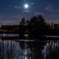 Вечером синим, вечером лунным... :: Владимир Безбородов