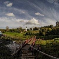 Набережная реки Трубеж :: Роман Шершнев