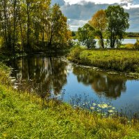 Осень в зеркале озер :: Алла ************