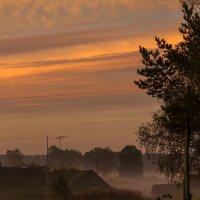 Утро  в деревне :: Александр