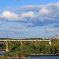Ж/мост в Финляндию :: Светлана Петошина