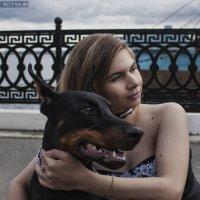 С четвероногим другом :: Anton Shumaev