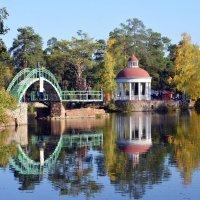 Бабье лето в парке Гагарина :: Полина Потапова