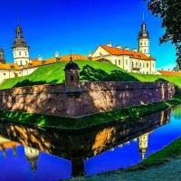 Замок Радзивиллов в Несвиже, XVI в. :: Nonna