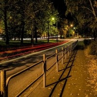 city night lights :: Dmitry Ozersky