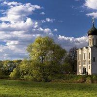 Весенний закат в Боголюбово. :: Александр Ковальчук