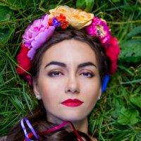 Девушка -Лето :: Мария Корнилова