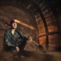 Работник учебной шахты :: Сергей Урюпин
