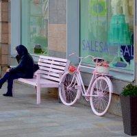 Розовый велосипед. :: Oleg4618 Шутченко