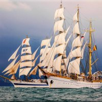 Международная черноморская регата больших парусных судов. :: СветЛана D