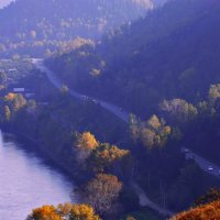 Дорога в осень :: galina tihonova