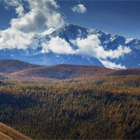 Теплый день в горах. :: Павел Сухоребриков