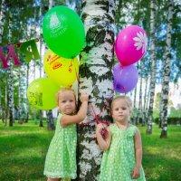 две сестрички- две лисички :: Мария Корнилова