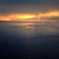 Метеор, Амур, туман, восход солнца. :: Виктор Иванович
