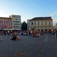 Аугсбург, Германия...теплый вечер... :: Galina Dzubina