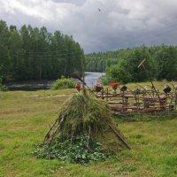 На берегу реки. :: Ирина Нафаня