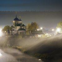 Церковь в тумане :: Марина