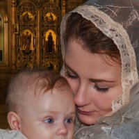 крестная :: Алена Дегтярёва