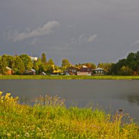 На берегу Свирского озера. :: Ирина Нафаня