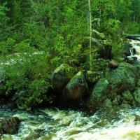 водопад :: геннадий щербак
