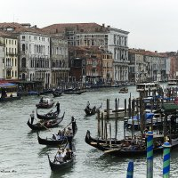 Уличное движение (Венеция) :: Александр Амеличкин