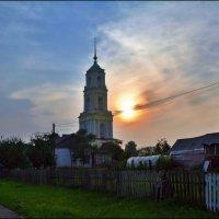 закат в Капшино :: Дмитрий Анцыферов