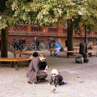 дети и голуби :: Ольга