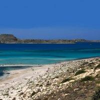 Крит. Остров Грамвуса с венецианской крепостью и часть бухты Балос :: Андрей Левин