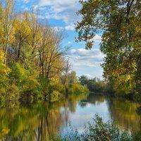 Осенний пейзаж на Деме :: Сергей Тагиров