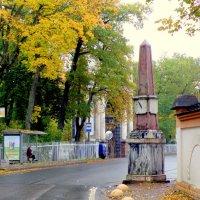 Верстовой столб у Орловских ворот :: Сергей