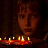 Фантазии при свечах :: Алексей Корнеев