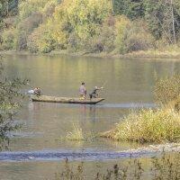 Рыбаки ловили рыбу... :: Евгений Голубев