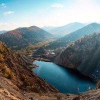 Рукотворное озеро. :: Поток