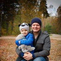 Даня и его папа :: Евгения К