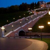 Вверх по лестнице (588 ступенек) :: ИГОРЬ ЧЕРКАСОВ