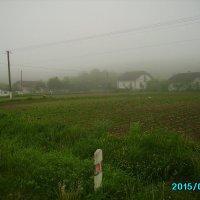 Туманное  утро  в   Крылосе :: Андрей  Васильевич Коляскин