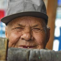 Взгляд старого человека. :: юрий Амосов