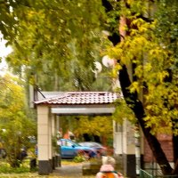 Девочка и осень :: Нина Алексеева
