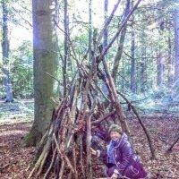 Как построить шалаш для милого :: Лидия