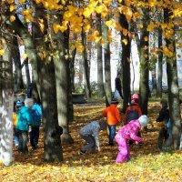 Осенний день-1 :: Фотогруппа Весна - Вера, Саша, Натан