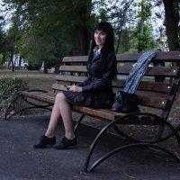в парке вечером... :: Наталия Сарана